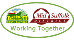 Babergh Mid Suffolk Councils Logo